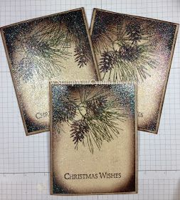 Stamp With Cynthia: Founders Swap - Shimmery Pines, the Video!