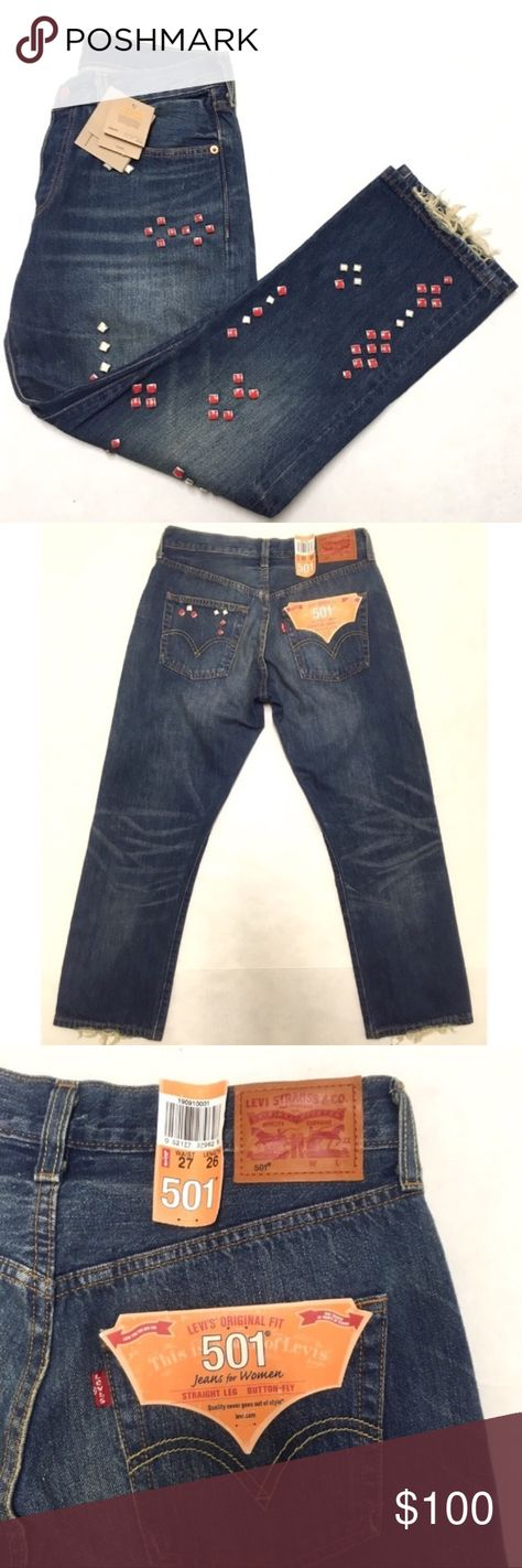 477fef84351 NWT Levi's wedgie mid rise 501 icon jeans 27 Brand new with tags, RARE  Levi's