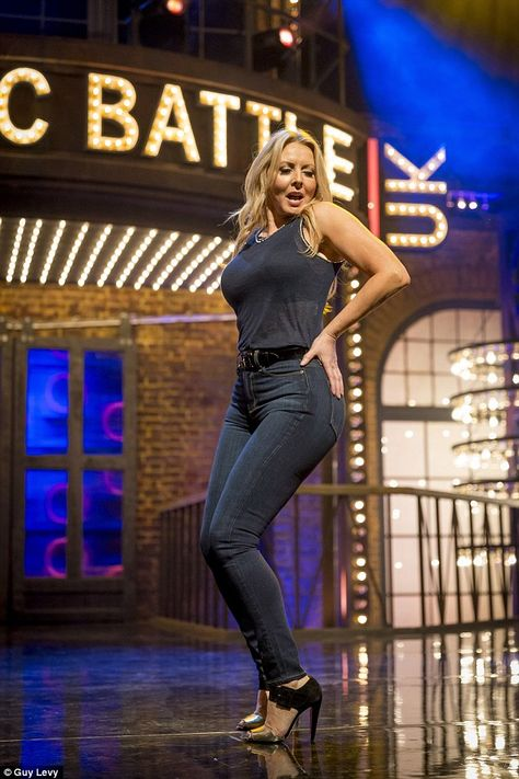 All about that bass: Carol Vorderman shakes her tush as she takes on a Meghan Trainor hit for Lip Sync Battle UK this week