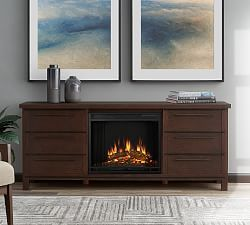 Real Flame Lynette Corner Electric Fireplace Media Cabinet In