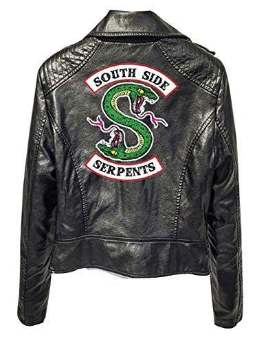 Riverdale Southside serpents Cheryl Blossom Femmes Veste Rouge Motard Riders