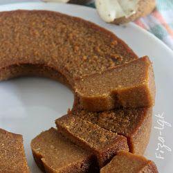 Bingka Ubi Kayu Gula Merah Makanan Kue Lezat Makanan Manis