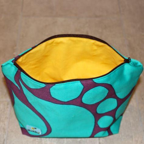 kupongskod unik design överlägsen kvalitet GEKKO: Å sy en toalettmappe - necessär   Sewing, Lunch box, Bags
