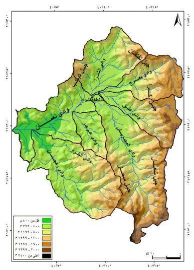 الجغرافيا دراسات و أبحاث جغرافية تطبيق نموذج جافريلوفيك لتقدير مخاطر التعرية المائي Places To Visit Geography Map