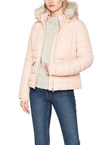 Tally Weijl Damen Jacke SJAPEREDO Rosa (Silver Pink Ibi) 38