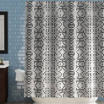 Cantu Single Shower Curtain Vinyl Shower Curtains Fabric Shower