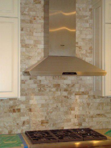 Honey Onyx Split Face 1x2 Mosaic Tile For Kitchen Backsplash Wall By Mnt Mosaics Pinterest Tileosaics