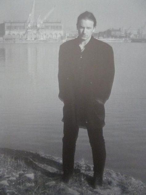 U2's Bono, Dublin, 1987 - Mini Press Poster