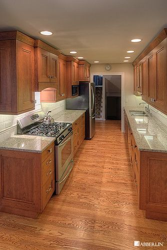 Galley Kitchen On Pinterest Kitchens