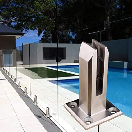 Stainless Steel Spigot For Glass In 2020 Glass Pool Fencing Glass Pool Balcony Pool