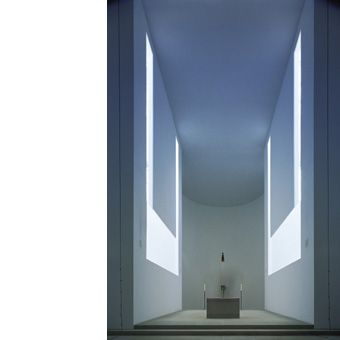 The minimalist architecture of John Pawson: Novy Dvur Monastery (Czech Republic 2004)