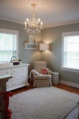 Restoration Hardwares Silver Sage kitchen paint color Loving