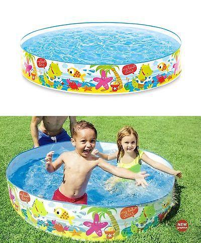 Inflatable And Kid Pools 116407 Intex Snorkel Buddies 5ft Snapset