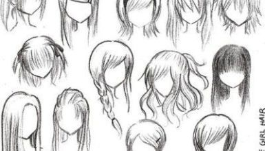 Curly Hair How To Draw Anime Hair