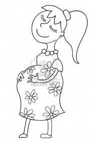 Resultado De Imagen Para Etapas Del Embarazo Animado Para Colorear Embarazo Animado Embarazo Dibujo Etapas Del Embarazo