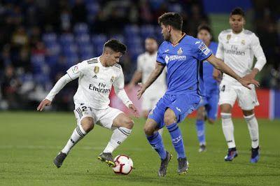 مشاهدة مباراة ريال مدريد وخيتافي بث مباشر اليوم 4 1 2020 في الدوري الاسباني In 2020 Madrid Real Madrid Baseball Cards