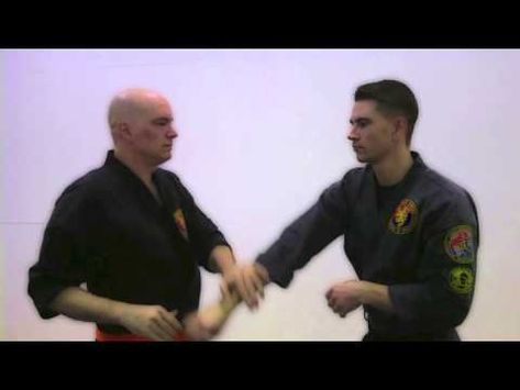 COMBAT HAPKIDO: Symmetrical Trapping - YouTube