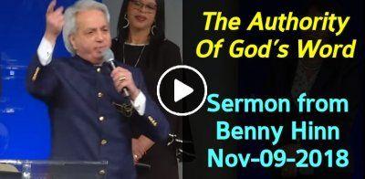 The Authority Of God's Word - sermon from Benny Hinn (November-09