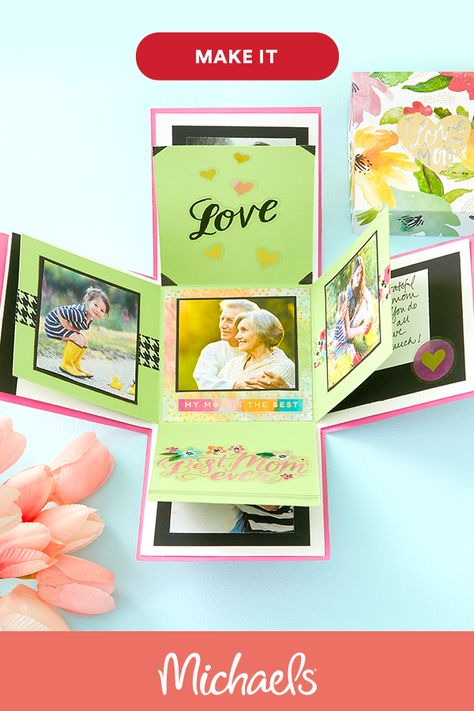 Mother's Day Memory Explosion Box