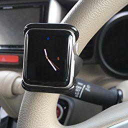 Amazon Satechi カーハンドル用 アップルウォッチ Apple Watch 1 2 グリップマウント 自転車 バイクハンドル 38mm Satechi スマートウォッチアクセサリ スマートウォッチ アップルウォッチ バイク ハンドル