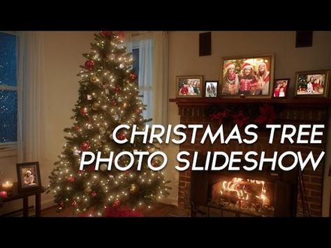 Christmas Tree Photo Slideshow After Effects Template Christmas Tree Photo Tree Christmas Scene