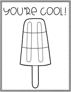 Popsicle Coloring Pages Fun Summer Activities Kids Popsicle Color