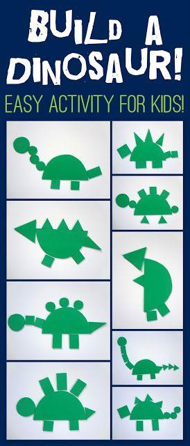Build a Dinosaur from Little Family Fun