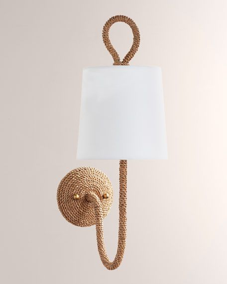 Coastal Living By Regina Andrew Bimini Single Light Sconce In 2020 Sconce Lighting Sconces Plug In Wall Sconce