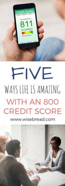 5 Ways Life Is Amazing With an 800 Credit Score