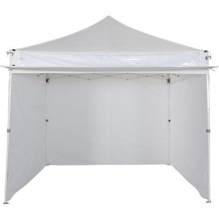 Ozark Trail 10x10 Commercial Canopy With Sidewalls Walmart Com Commercial Canopy Pop Up Canopy Tent Canopy Tent