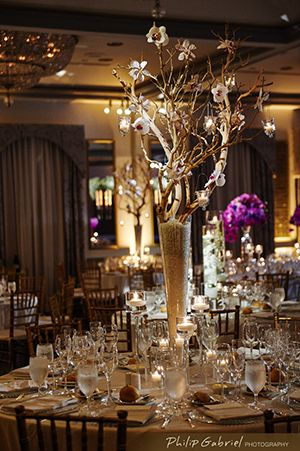 Luxe Wedding At Rittenhouse Hotel Samantha Bryan Robertsons Flowers And Events
