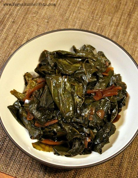 Classic Southern Collard Greens Vegan Recipe Vegan