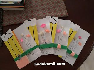 Diy Kad Hari Guru Diy Guru Bookmarks