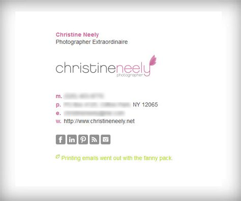 8 best Email signature images on Pinterest Email signatures - email signature template