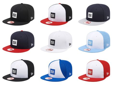 b50e9165226d2 New Era 9Fifty Basic Rubber Collection Diamond Era Baseball Cap Adjustable  Hat  NewEra  BaseballCap