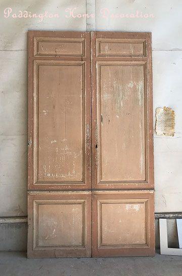 アンティークパネルペアドア パディントン アンティークドア