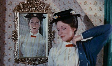 Practically Perfect Mary Poppins Reaction GIFs   Oh My Disney