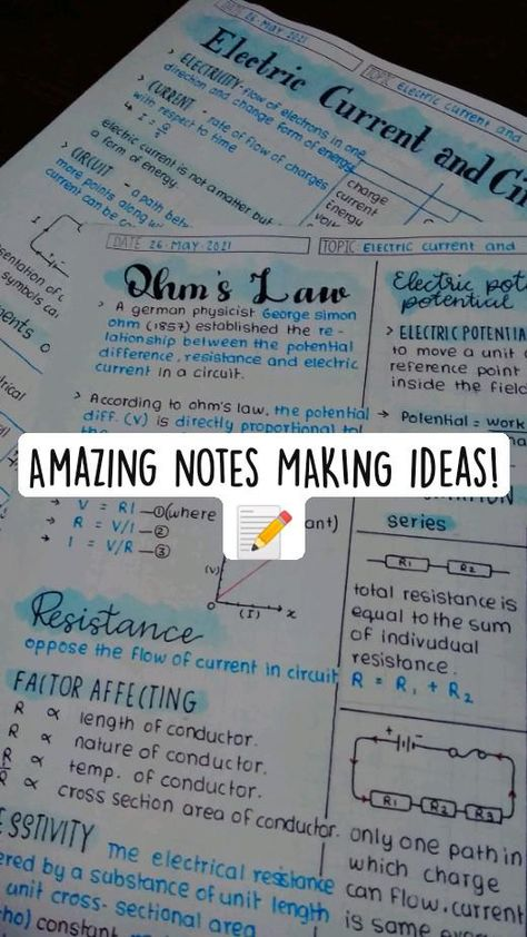 Amazing notes MAKING ideas!📝