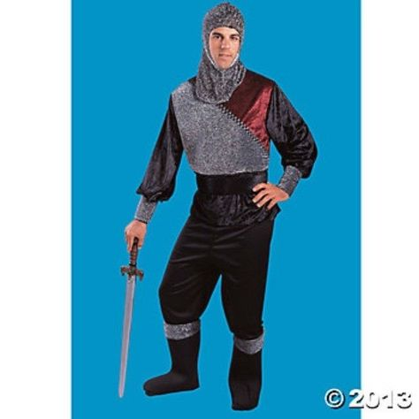 Mens Royal Knight Halloween Costume Medium 40-42 Adult Medieval Renaissance