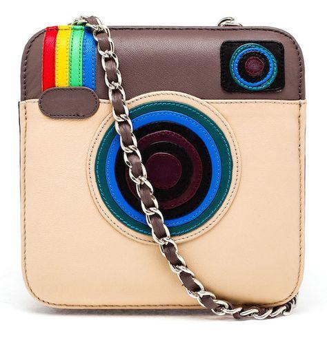 3a896605c90 Hah, this would be funny! Mua Mua Leather Instagram Bag   Çanta ...