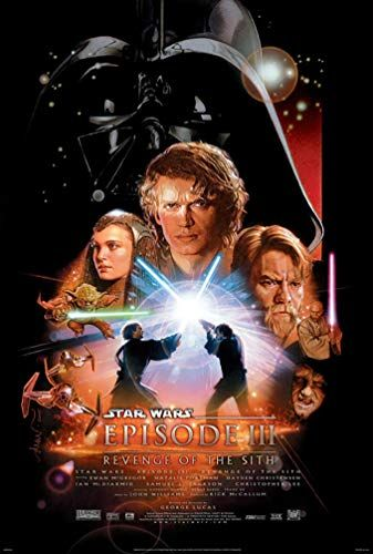 Star Wars Revenge of The Sith Movie Poster (Size 27x40)
