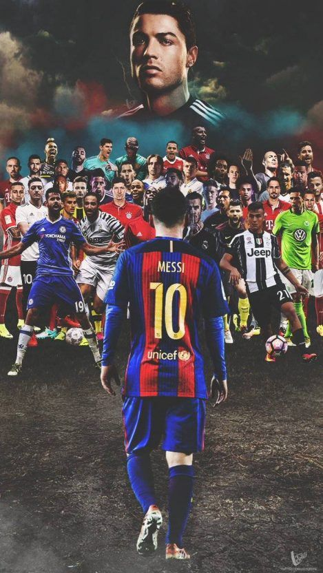 Football In Night Iphone Wallpaper Iphone Wallpapers Messi Soccer Lionel Messi Messi Vs Ronaldo