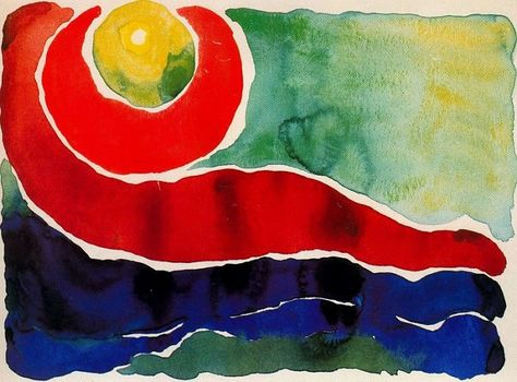 VI Canvas Print Paintings Poster Reproduction Georgia O/'Keeffe Evening Star No