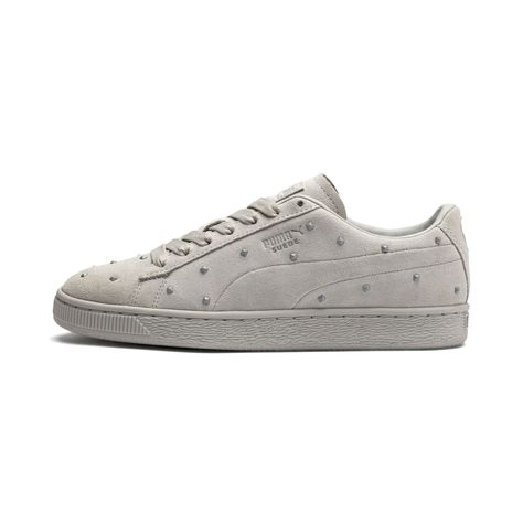 puma suede trainers size 3