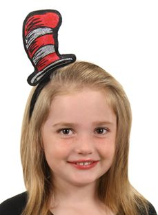 Cat in the Hat Child Felt Stovepipe Economy Accessory Dr Seuss Elope