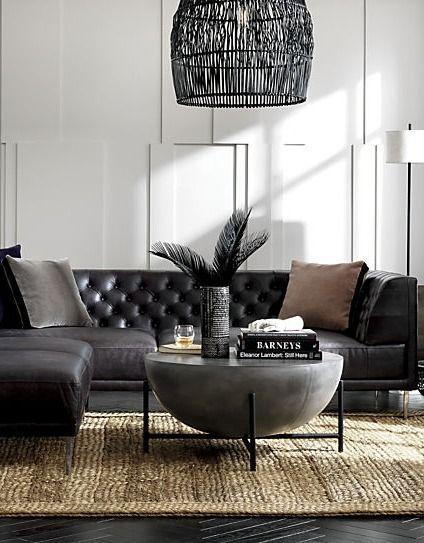 Darbuka Black Coffee Tables Beideo Com Modern Living Room Black Black Living Room Sectional Living Room Decor