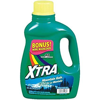 Xtra He Liquid Laundry Detergent Mountain Rain 75 Ounce Review