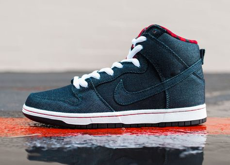 the latest adc1d 2a1dd Nike Dunk High Premium SB - Denim