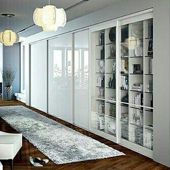 Les Meilleures Images Du Tableau Un Placard Dans Un Salon Sur - Porte placard coulissante et fournisseur porte interieur