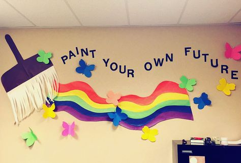 Amazing School Wall Decoration Ideas Embellishment - Wall Art Design ...